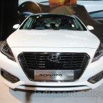 Hyundai Sonata PHEV at Auto Expo 2016