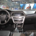 Hyundai Sonata PHEV dashboard at Auto Expo 2016