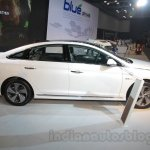Hyundai Sonata PHEV side view at Auto Expo 2016