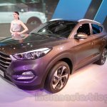 Hyundai Tucson front quarter at Auto Expo 2016