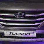 Hyundai Tucson grille at Auto Expo 2016