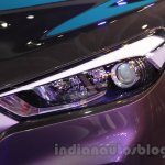 Hyundai Tucson headlight at Auto Expo 2016