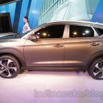 Hyundai Tucson side at Auto Expo 2016