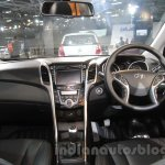 Hyundai i30 dashboard at 2016 Auto Expo