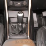 Hyundai i30 gear shifter at 2016 Auto Expo