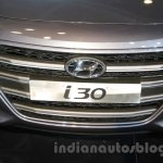 Hyundai i30 grille at 2016 Auto Expo