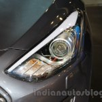 Hyundai i30 headlamp at 2016 Auto Expo