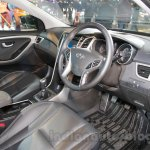 Hyundai i30 interior at 2016 Auto Expo