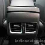 Hyundai i30 rear AC vent at 2016 Auto Expo