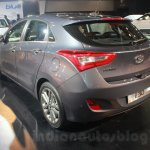 Hyundai i30 rear three quarter at the Auto Expo 2016