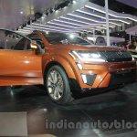 Mahindra XUV Aero front quarter at Auto Expo 2016