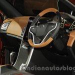 Mahindra XUV Aero dashboard front quarter at Auto Expo 2016