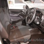 Isuzu D-Max Single Cab 4x2 cockpit at Auto Expo 2016