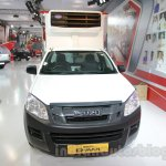 Isuzu D-Max Single Cab 4x2 front at Auto Expo 2016