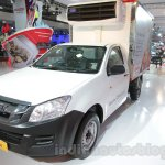 Isuzu D-Max Single Cab 4x2 front three quarter left at Auto Expo 2016