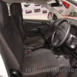 Isuzu D-Max Single Cab 4x4 cockpit at Auto Expo 2016