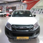 Isuzu D-Max Single Cab 4x4 front at Auto Expo 2016
