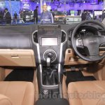 Isuzu D-Max V-Cross dashboard detail at Auto Expo 2016
