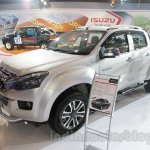 Isuzu D-Max V-Cross front three quarter at Auto Expo 2016