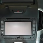 Isuzu D-Max V-Cross infotainment unit at Auto Expo 2016