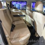 Isuzu D-Max V-Cross rear passenger seat at Auto Expo 2016