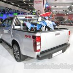 Isuzu D-Max V-Cross rear three quarter at Auto Expo 2016