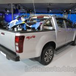 Isuzu D-Max V-Cross rear three quarter right at Auto Expo 2016