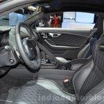 Jaguar F-Type SVR front cabin at the 2016 Geneva Motor Show Live