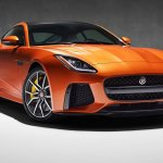 Jaguar F-Type SVR front three quarters