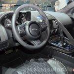Jaguar F-Type SVR interior at the 2016 Geneva Motor Show Live