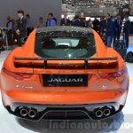 Jaguar F-Type SVR rear at the 2016 Geneva Motor Show Live