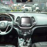 Jeep Cherokee Overland dashboard at the 2016 Geneva Motor Show