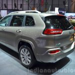 Jeep Cherokee Overland rear three quarter at the 2016 Geneva Motor Show