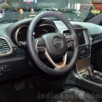 Jeep Grand Cherokee 75th Anniversary edition interior at the 2016 Geneva Motor Show