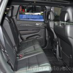 Jeep Grand Cherokee 75th Anniversary edition rear seat at the 2016 Geneva Motor Show