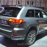 Jeep Grand Cherokee 75th Anniversary edition rear three quarter at the 2016 Geneva Motor Show