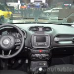 Jeep Renegade Dawn of Justice Special Edition dashboard at the Geneva Motor Show Live
