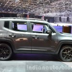 Jeep Renegade Dawn of Justice Special Edition side at the Geneva Motor Show Live