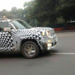 Jeep Renegade side caught testing on Indian roads