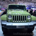 Jeep Wrangler 75th Anniversary edition front at the 2016 Geneva Motor Show