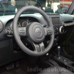 Jeep Wrangler 75th Anniversary edition interior at the 2016 Geneva Motor Show
