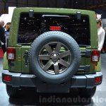 Jeep Wrangler 75th Anniversary edition rear at the 2016 Geneva Motor Show