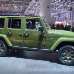 Jeep Wrangler 75th Anniversary edition side at the 2016 Geneva Motor Show