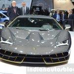 Lamborghini Centenario LP770-4 front at the 2016 Geneva Motor Show Live