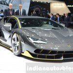 Lamborghini Centenario LP770-4 front quarter at the 2016 Geneva Motor Show Live
