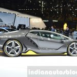 Lamborghini Centenario LP770-4 side at the 2016 Geneva Motor Show Live