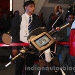 Mahindra GenZe display rear three quarters at Auto Expo 2016