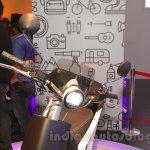 Mahindra GenZe headlamp at Auto Expo 2016