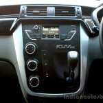 Mahindra KUV100 1.2 Diesel (D75) center console Full Drive Review