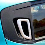 Mahindra KUV100 1.2 Diesel (D75) door handle Full Drive Review